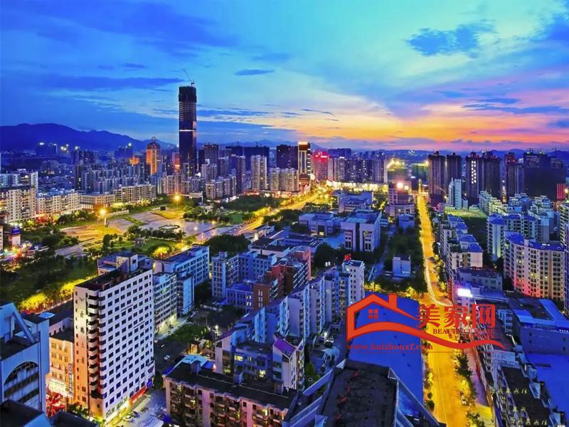 惠州大亞灣全景圖