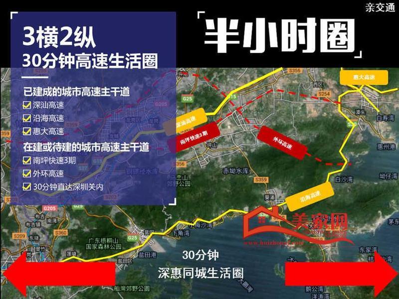 保利陽光城交通圖